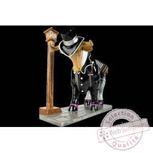 Figurine Taureau 50cm malevo Art in the City 84254