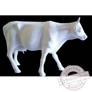 Figurine Vache cow white 32cm Art in the City 80600