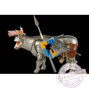 Figurine Vache knight berti 32cm Art in the City 80643