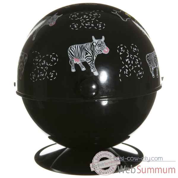 Video Boule a sucre noire Vache Black Cow -blckBOSL