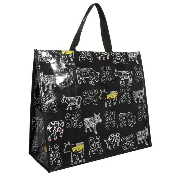 coffret d jeuner 2 tasses en porcelaine vache black cow. Black Bedroom Furniture Sets. Home Design Ideas