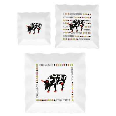 Coffret 2 tasses a cafe en porcelaine Vache Black Cow -blckTASL