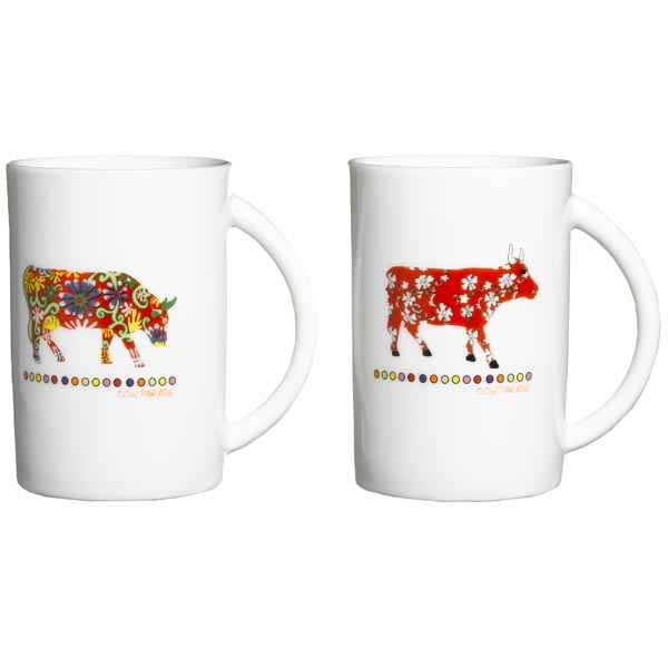 Cow Parade-Coffret 4 Mugs -  MUGL