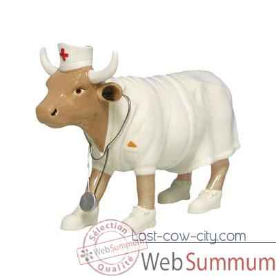 Cow Parade -Las Vegas 2002, Artiste Angelic Fedevich/Matt Kiovatch -Nurse Nightencow -47357