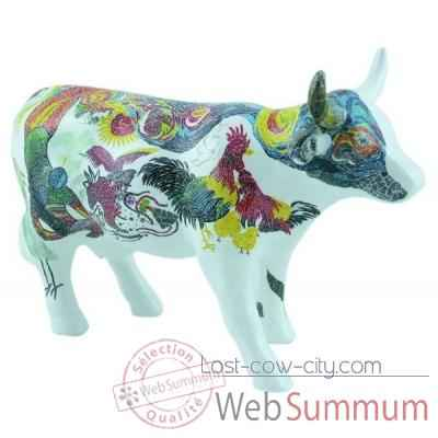 Cow parade -taipei 2009, artiste tsai, erh-pin - tsai, erh-hsin - beauty and lure-47371