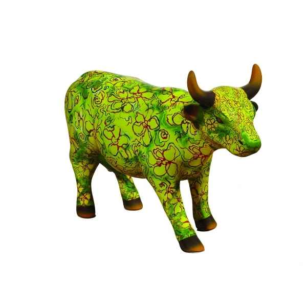 Figurine vache medium flora CowParade -MC47463