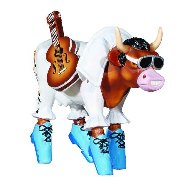 Figurine vache cowparade rock 'n roll resine medium mm-47911