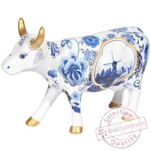 Vache blue cow bone china CowParade -47455