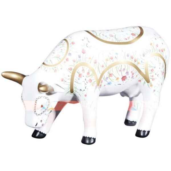 Vache rendada medium cows ceramique CowParade -47473