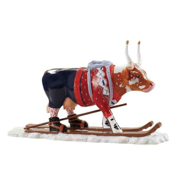 Vache cowparade résine the ski cow mmr47844