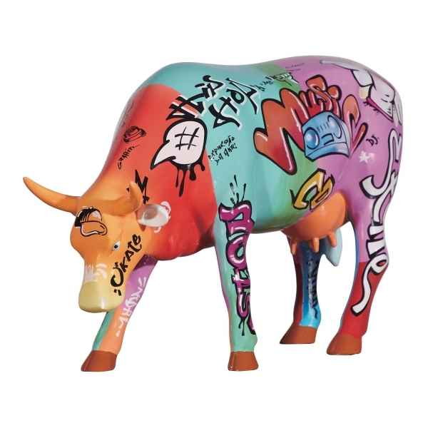 Vache Vaquinha do hip hop (large) CowParade -46794
