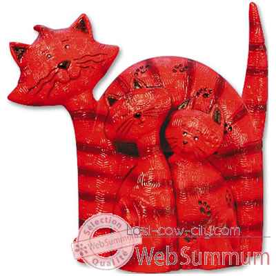 Figurine Chat Funky Colors - Thabitha - Tiggy - Cuddles - CA22FC-CA14FC-CA12FC