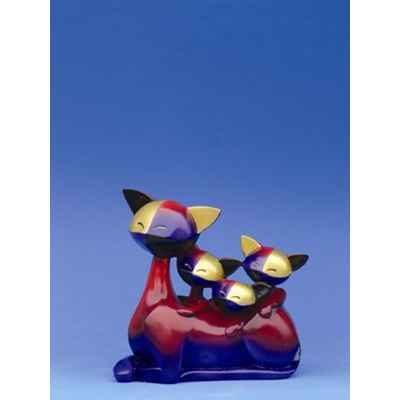 Figurine Le Chat Queenie + Quinta + Quiana - Questa R, - QR03