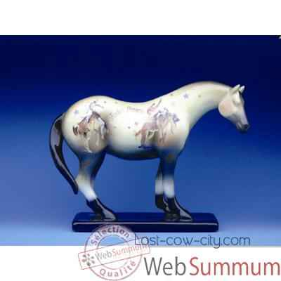 Video Figurine Cheval - Painted Ponies - Rodeo Dreams - 12213