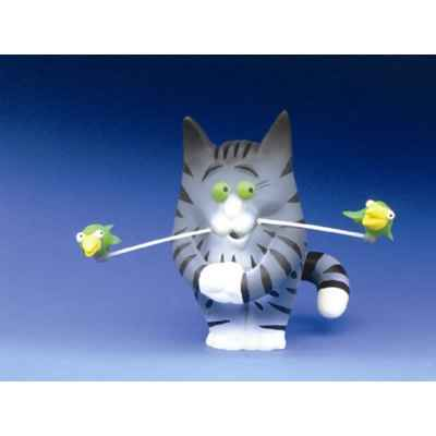 Figurine Chat - Felin pour l\\\'autre - Charly Becfin - FF02