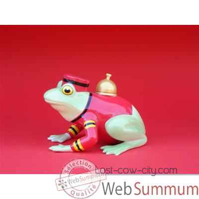 Figurine Grenouille - Fanciful Frogs - Bellhop - 11901