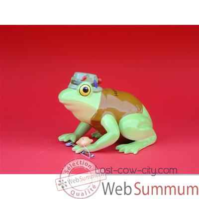 Video Figurine Grenouille - Fanciful Frogs - Hoppy Fishing - 11937