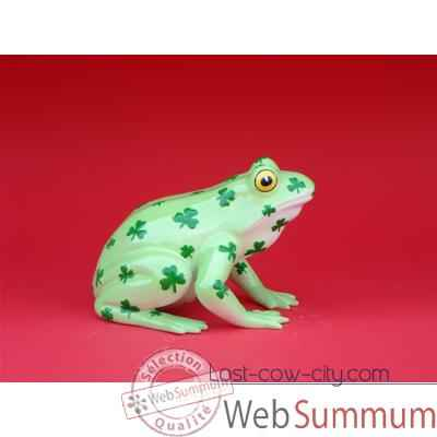 Video Figurine Grenouille - Fanciful Frogs - Toad-ally Lucky - 6340