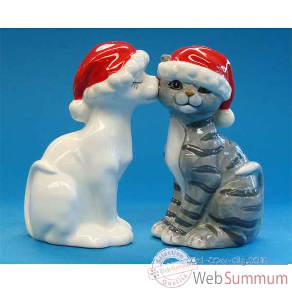 Video Figurine Chat Sel et Poivre -MW93474