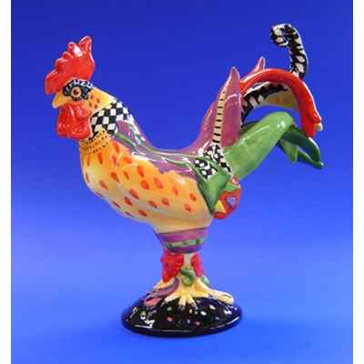 Figurine Coq - Poultry in Motion - Mardi Gras - PM16203