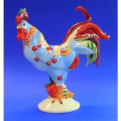 Figurine Coq - Poultry in Motion - Fruit coctail - PM16209