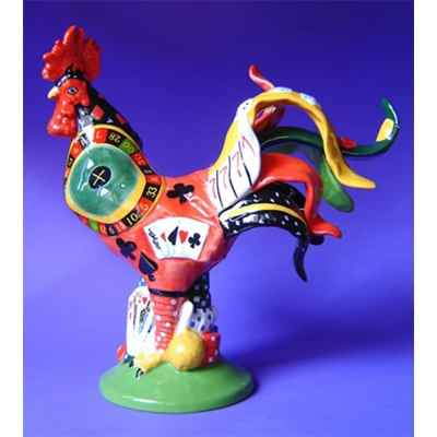 Video Figurine Coq - Poultry in Motion - Roulette Rooster - PM16287