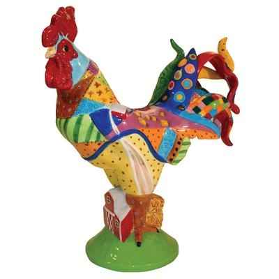 Video Figurine Coq Country Poultry in motion -PM16713