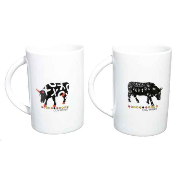 Manique en coton Vache Black Cow -blckML