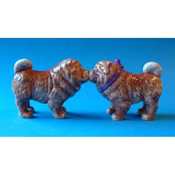 Figurine sel et poivre - chow chows - mw93901
