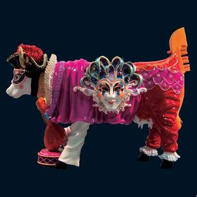 Video Vache Carnevale di Venezia Art in the City - 80623