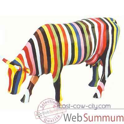 Video Cow Parade - Striped -20286