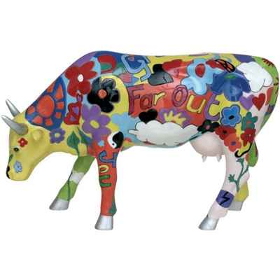 Cow Parade -Isles of Man 2003, Artiste Kay Ormond - Groovy Moo-46170