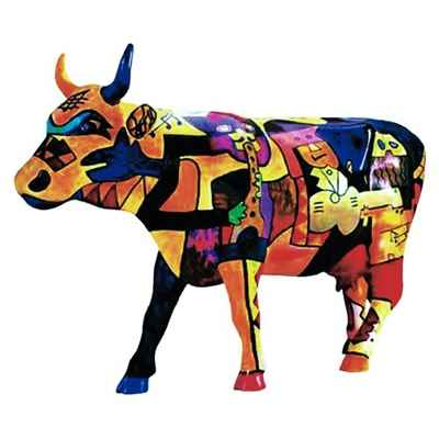 Cow Parade -Houston 2001, Artiste Claer Lake High School - Picowso\'s Moosicians-46153