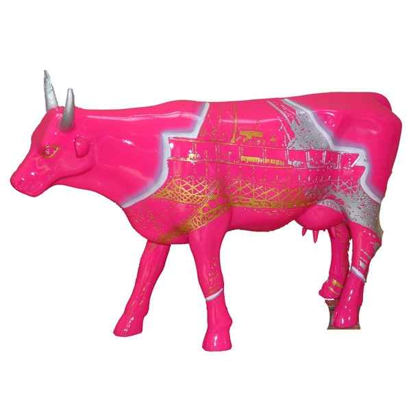 Cow Parade - Paris 2006 - Artiste Agnes Vidrequin - Vach\'room Graffity - 46416