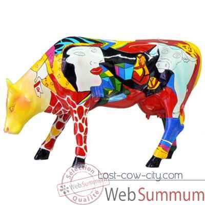 Cow Parade - Hommage to Picowso\'s African Period-46363