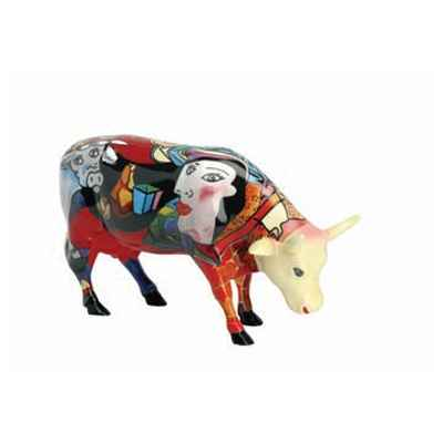 Cow Parade -South Africa 2005, Artiste Annalie Dempsey- Hommage to Picowso\'s African Period-47352
