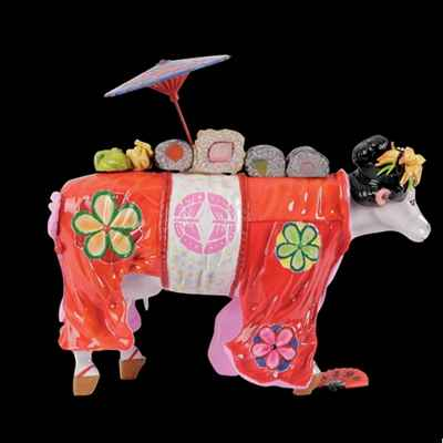 Vache Geisha Art in the City - 80632