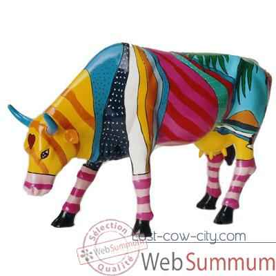 Video Cow Parade -New York 2000, Artiste Valter Morais - Boca Bovine-20111