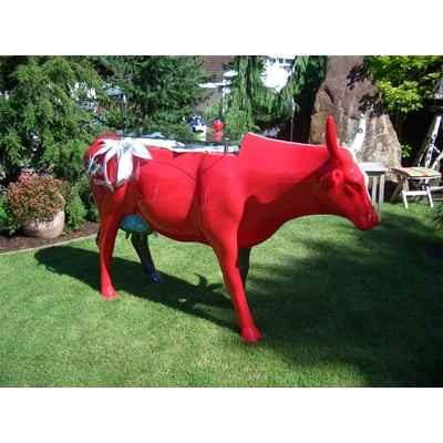Vache Art in the City en statuette
