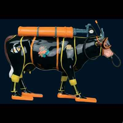 Vache Zenzi - the Scuba Diver Art in the City - 80607